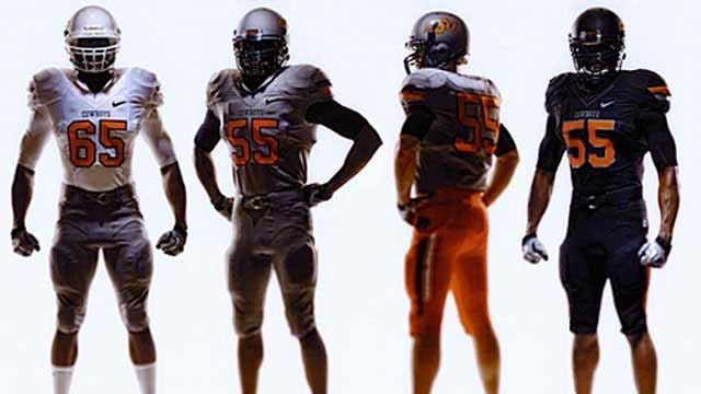 New OSU Football Uniforms Revealed