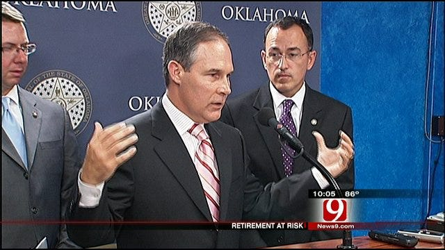 Oklahoma AG Examines Pension Fund Investments