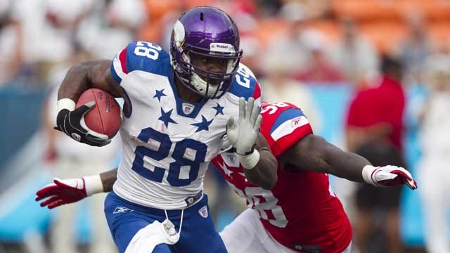 Adrian Peterson Named No. 3 Player In NFL