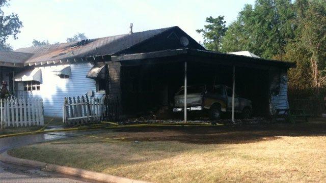 Firefighters Extinguish SE OKC Fire