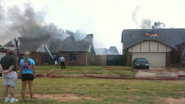 Grilling May Be Cause Of Four House Fires In Moore