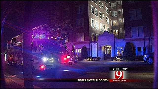 Burst Pipe At Midtown Sieber Hotel, Residents Evacuated For Hours
