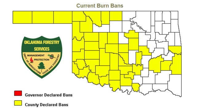 Burn Ban Issued In Lincoln County