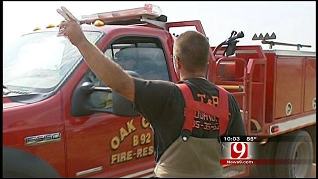 Fired Cashion Firefighters Continue to Serve