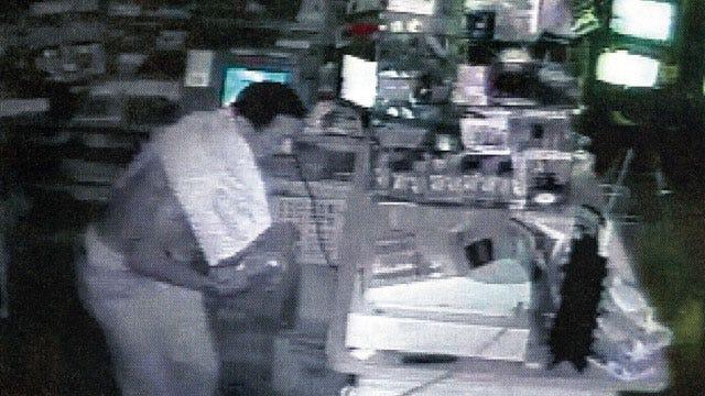 Surveillance Cameras Capture Northwest OKC Burglary Suspect