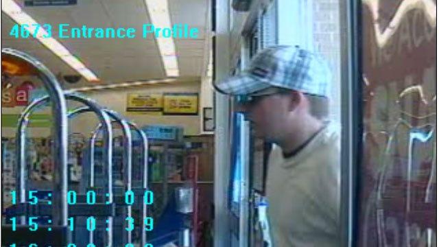 Surveillance Cameras Capture Walgreen's Robbery Suspect