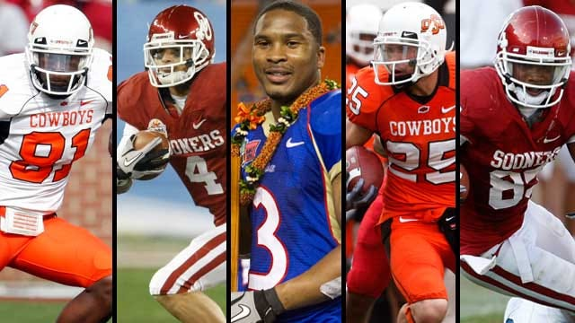 Five Oklahoma Players On Biletnikoff Award Watch List