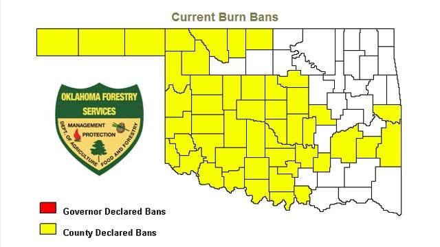 Logan County Issues Burn Ban