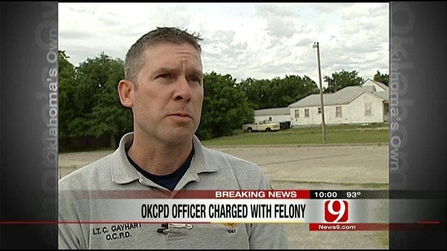 Charges Filed Against OKC Police Officer