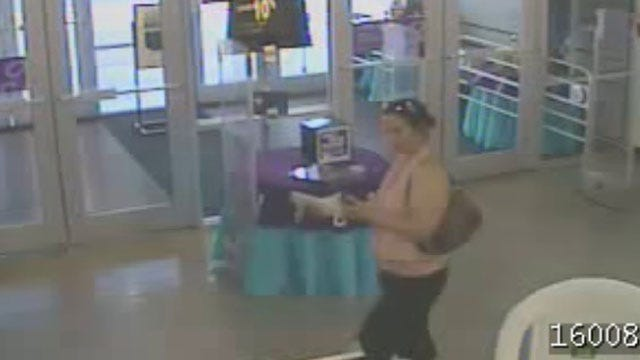 OKC Police Release Pictures Of Identity Theft Suspect