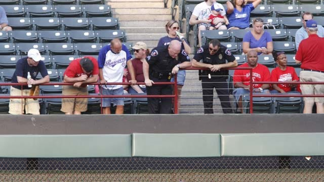 Fan Dies After Falling Over Railing At Rangers Game