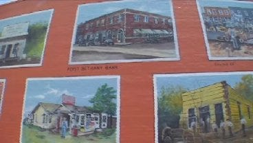 Artist Recreates Oklahoma's Colorful History