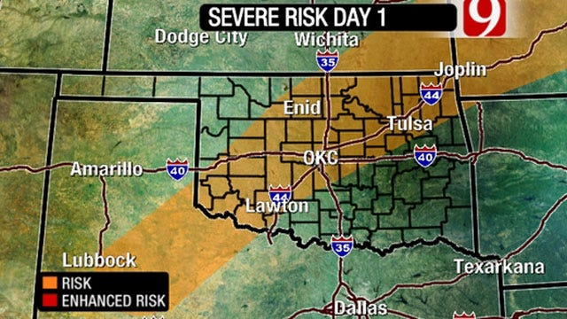 Risk Of Severe Weather Today