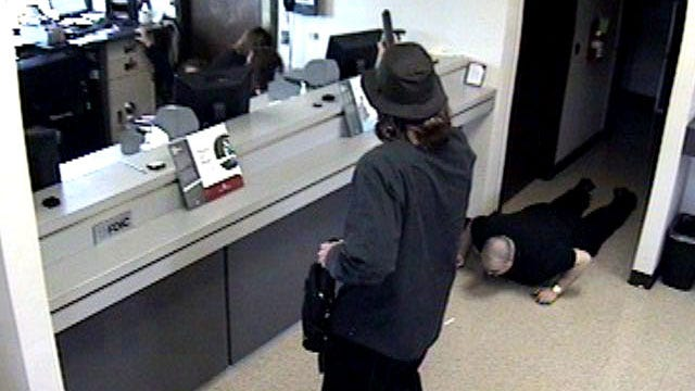 Robber Caught On Surveillance Video At Bank Of Oklahoma