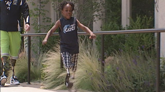 Young Athlete Could Steal Show At Edmond's Endeavor Games