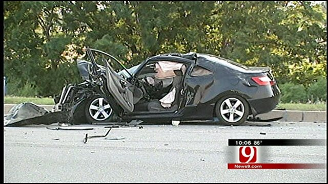 OKC Accident Sends Baby, 3 Others To Hospital