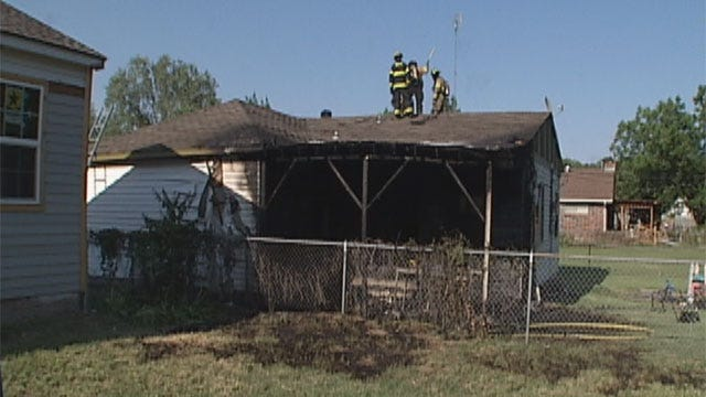 No Injuries In Bethany Fire