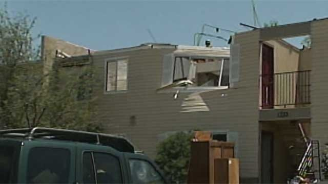 Norman Residents Displaced From Apartments After Storms