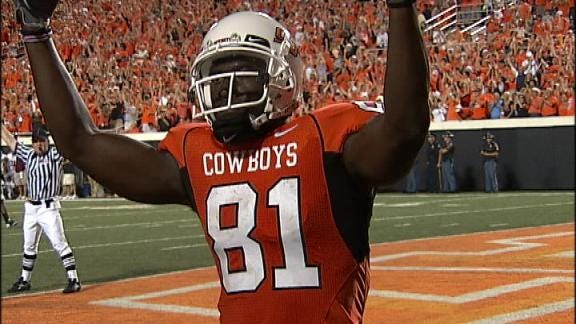 Chat With OSU's Justin Blackmon