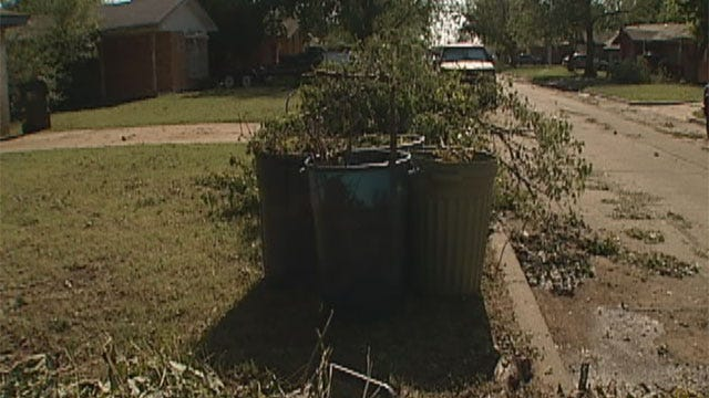 Norman Residents Still Picking Up Pieces After Storms
