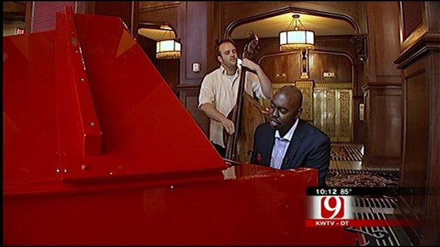 Oklahoma City Police Officer Buries Himself In Jazz