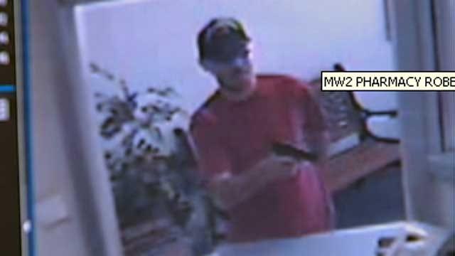 Armed Robbery At OKC Pharmacy