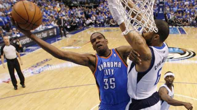 Two Thunder Plays Make NBA's Top 10 Of The Year