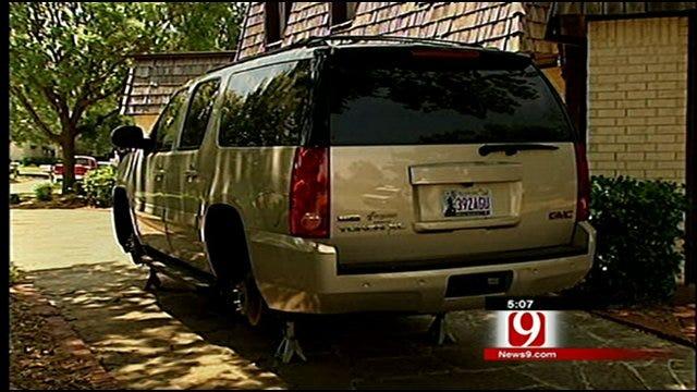 Norman Car Burglaries Infuriate Owners