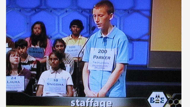 'Staffage' Pushes Piedmont Teen Out Of National Spelling Bee