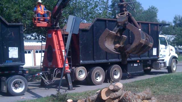Norman Residents Continue To Clean Up Storm Debris