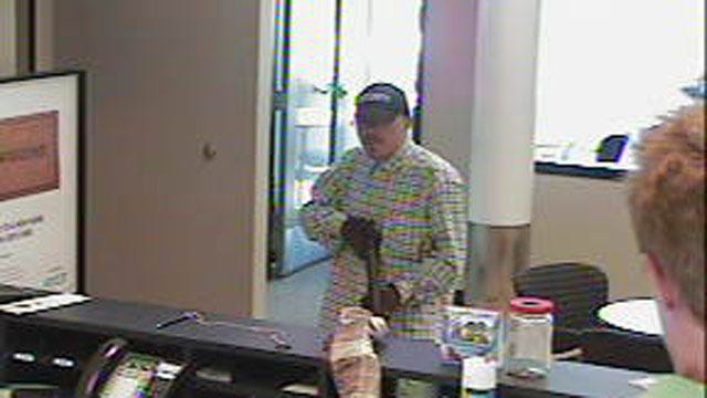 Robber Armed With Shotgun Hits Choctaw Bank