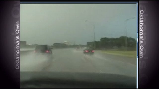 Storms Move Across Central Oklahoma