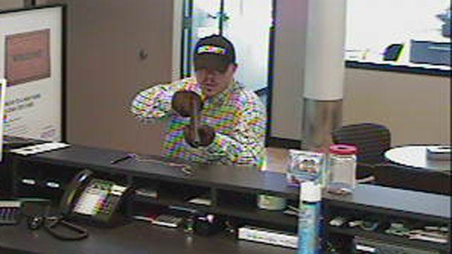 Choctaw Bank Robbery Suspect Turns Himself In