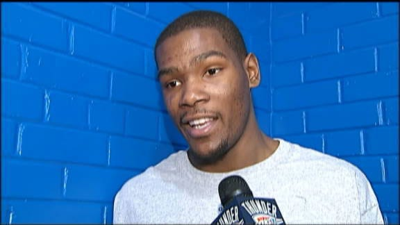 Nothing To Do In OKC, Kevin Durant Agrees