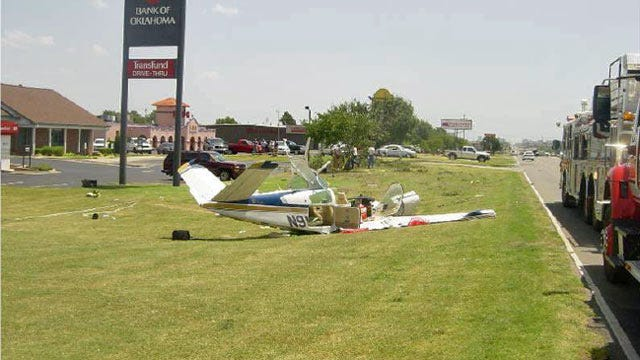NTSB: Pilot Partly To Blame For OKC Crash That Killed Him