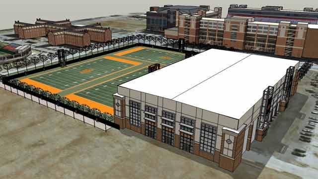 OSU Set To Begin Construction On Indoor Facility