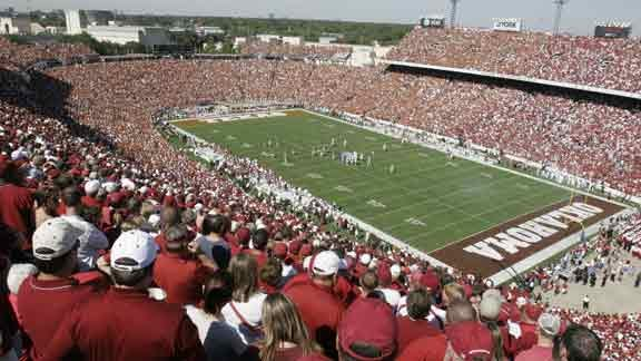 OU-Texas Game Time Announced