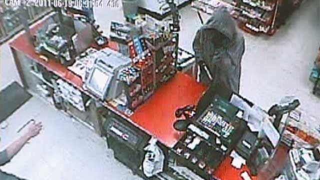 Surveillance Picture Released In OKC EZ Mart Robbery