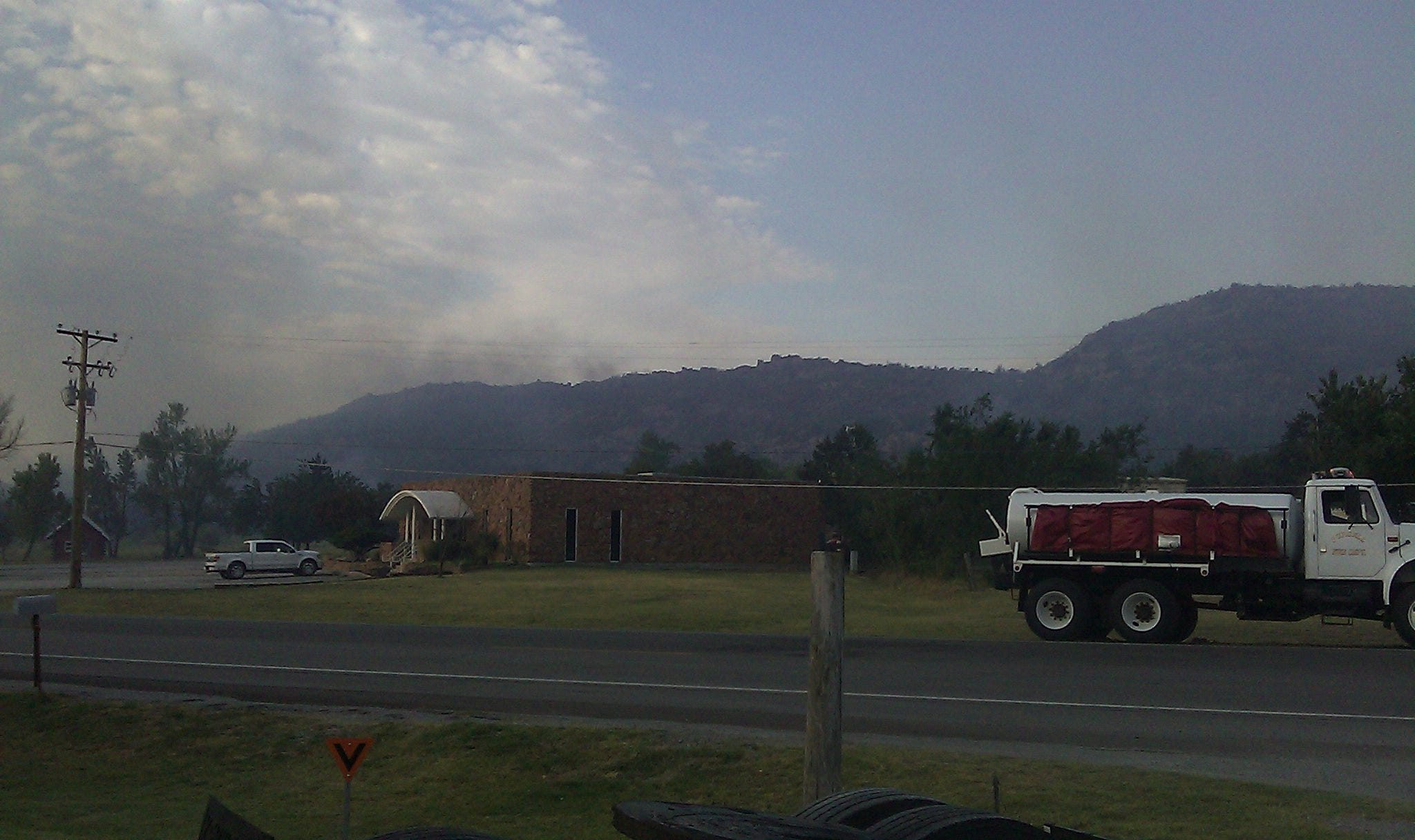 Medicine Park Residents Return After Fire