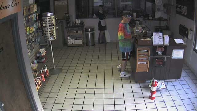 Burglary Caught On Tape At An OKC Car Wash