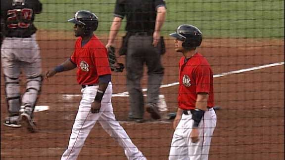 Redhawks Tally Five Runs In Eighth To Top Isotopes