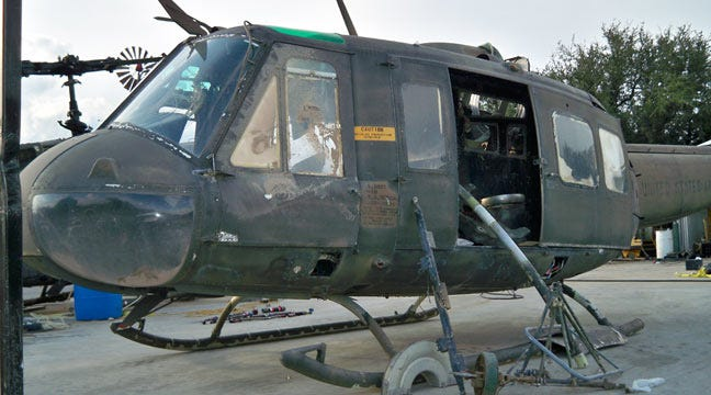 Public Invited As Restored Viet Nam Helicopter Comes To Shawnee Sunday