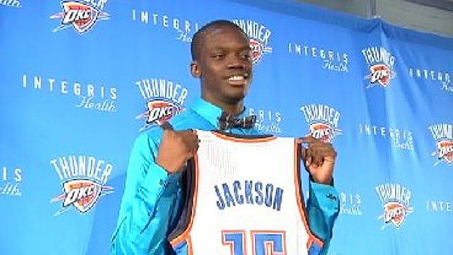 Thunder Rookie Reggie Jackson Talks About His New Team