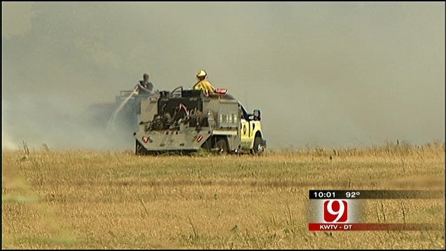 Grass Fires Accentuate Need For Expanded Burn Ban, Some Say