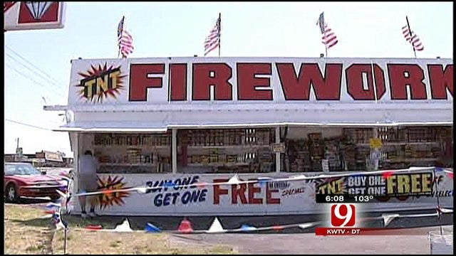 Burn Bans And Fireworks: What Are The Rules In Your County?