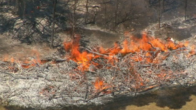 Comanche County Issues Burn Ban, Cities Cancel Fireworks Displays