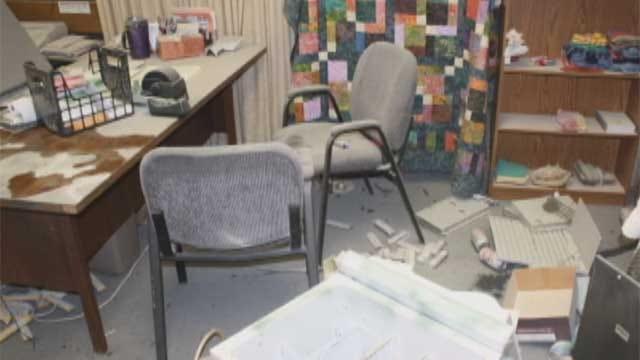 Vandals Attack Senior Center in Duncan