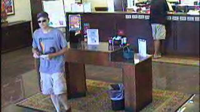 Serial Bank Robber May Be At Work In OKC