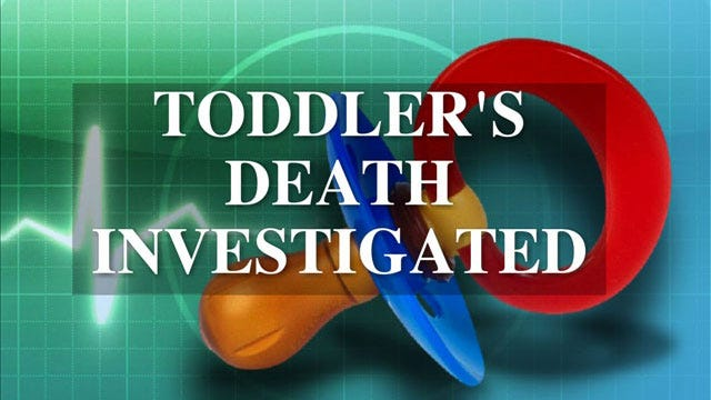 Pottawatomie County Toddler's Death Ruled A Homicide