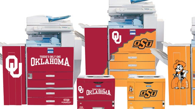 Standley Systems Offers OU And OSU Copiers And Printers